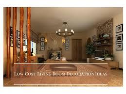 Design Low Cost 5 Low Cost Living Room Decoration Ideas Interior Design