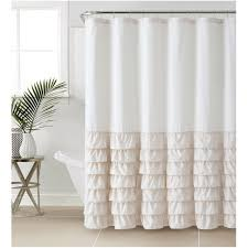 white ruffle shower curtain. Full Size Of Home Design:white Ruffle Shower Curtain Awesome Vcny Melanie Large White S