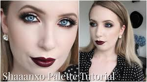 shaaanxo for bh cosmetics palette tutorial sultry autumn makeup for pale skin you