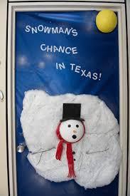office door christmas decorating ideas. another creative door depicting a snowman in distress office christmas decorating ideas