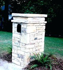 stone mailbox designs. How To Make A Stone Mailbox Designs Custom Image Of Brick Plans Design . Faux