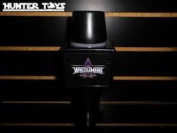 WWE MICROFONO WRESTLEMANIA XXX DE JUGUETE HECHO DE PLASTICO.