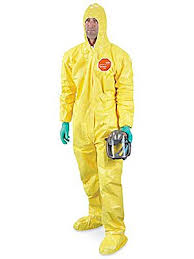 Tychem Size Chart Tychem Qc Deluxe Coverall
