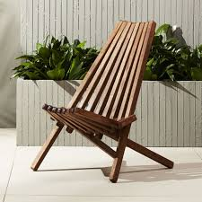 maya outdoor wooden chair