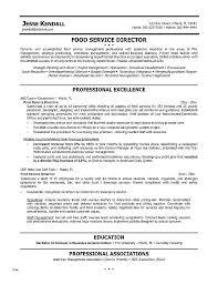 Resume Template Restaurant Manager Free Sample For Cv Socialum Co