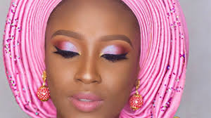 nigerian traditional bridal makeup tutorial