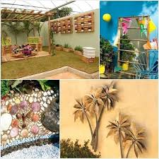 interior outdoor wall decor ideas attractive innovative patio art home design throughout from garden