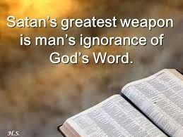 Image result for ignorant definition bible