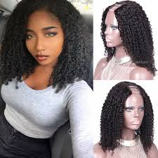 150 heavy density tight curly u part wig human hair wigs for black women