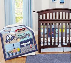 7pcs Blue Transportation and Embroidery Dog Baby Cot Crib Bedding ... & 7pcs Blue Transportation and Embroidery Dog Baby Cot Crib Bedding set for  boys bed kit set Quilt Fitted Sheet Bumpers Skirt-in Bedding Sets from  Mother ... Adamdwight.com