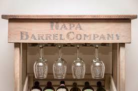 wine barrel wine rack furniture. Tall Wine Rack Cabinet Barrel Furniture