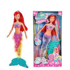 Đồ Chơi Trẻ Em Búp Bê Nàng Tiên Cá Dành Cho Bé Yêu SL Light & Glitter  Mermaid 105733049 - Hàng Chính Hãng