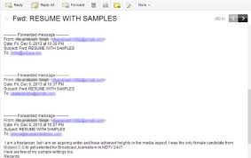Amazing How To Write Email To Hr For Sending Resume Sample