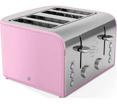 Retro Toasters buy swan retro st17010pn 4slice toaster pink free delivery 8298 by xevi.us