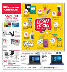 Office Depot Logo Design Extraordinary Office Depot Weekly Ad OfficeMax Ad Flyer August 48 48 48