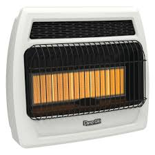 dyna glo 30000 btu propane infrared vent free thermostatic wall heater