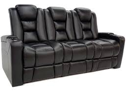 recliner couches in black leather leather couch set