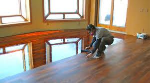 hardwood floor polyurethane smell