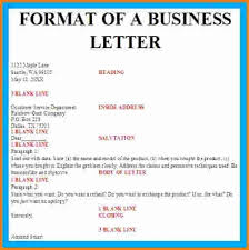 7 Letterhead Format For Business Letters Cashier Resume Within