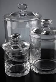 clear glass kitchen canister sets uk