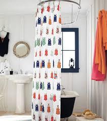 vintage shower curtain. 10 Vintage Shower Curtains For Perky Look In The Bathroom Curtain R
