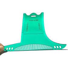 <b>Men</b> Beard Shaping Styling Template Combs Shaving Tool ...