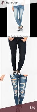 Low Rise Jordan Curvy Jeans Jeggings Brand New Low Rise