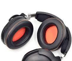 Yedek kulak pedleri yastık kafa bandı SteelSeries 9 H / 9 H oyun kulaklığı  PC Mac için|Earphone Accessories
