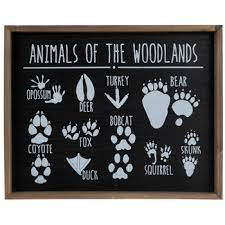New polka dot dress framed wood wall decor price $14.99 quick view. Animals Of The Woodlands Wood Wall Decor Hobby Lobby 1469501