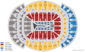 Pepsi Center Seating Chart The Weeknd Seating Charts Americanairlines Arena