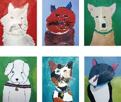 colorwheel cats dogs gallery several examples of art from the cats and dogs class