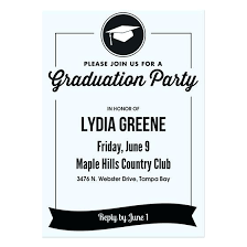 Free Template For Graduation Invitation Create A Graduation Announcement Free Make Your Own Graduation