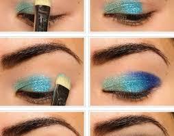 simple green eye makeup tutorial for summer