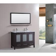 Bathroom Mirror With Shelf Espresso