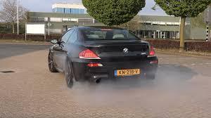 Bmw M6 V10 Crazy Burnouts Accelerations Epic V10 Sounds Youtube