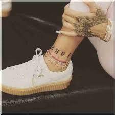 Rihanna Tetování