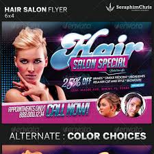 Hair Salon Flyer Templates Salon Flyer Template Xcdesign Info