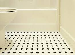 replacing linoleum with tile black and white bathroom flooring replacing linoleum with tile floor