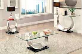 Elegant Lucy Modern Glass Top Coffee Table Great Ideas