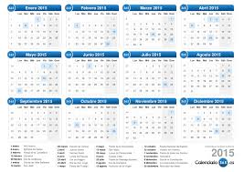 Calendarios Para Imprimir 2015 Calendario 2015
