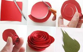 Flower Out Of Paper How To Make Flowers Out Of Paper Asknaij How To Make A Flower Out Of