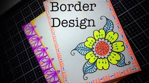Assignment Design Images Flowers Assignment Decoration Border Designs Project