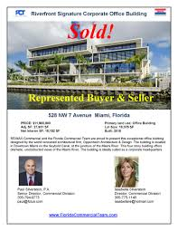 Univista insurance is celebrating 10 years of operations with the opening of its 122nd florida office. Miami Riverfront Office Building Sold To Univista Insurance For 10 2 Million Miami Commercial Real Estate