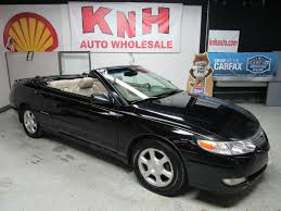 2003 TOYOTA CAMRY SOLARA SE for sale at KNH Auto Sales | Akron, Ohio
