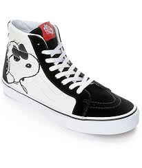 cool vans shoes for boys. vans x peanuts sk8-hi joe cool skate shoes for boys i