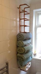 Towel Rack Ideas For Small Bathrooms Bathroom Towel Storage Rack