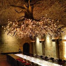 something we can imitate but not own swarovski crystal vine light fixture from napa