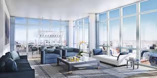apartment interior decorating. Apartments Contemporary Apartment With Grey Fabric Sofa And Lamp Modern Interior Decorating Plan Glass Framed Walls Room Decor Included Furniture There Are