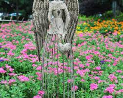 outdoor garden decor. garden angel, statue, angel outdoor decor, sculpture, decor