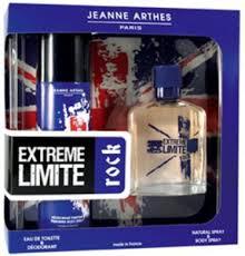 <b>Jeanne Arthes Extreme</b> Limit Rock Gift Set For Men (Eau de Toilette ...